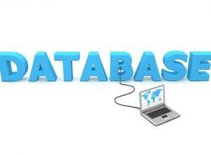 Maintaining a customer database