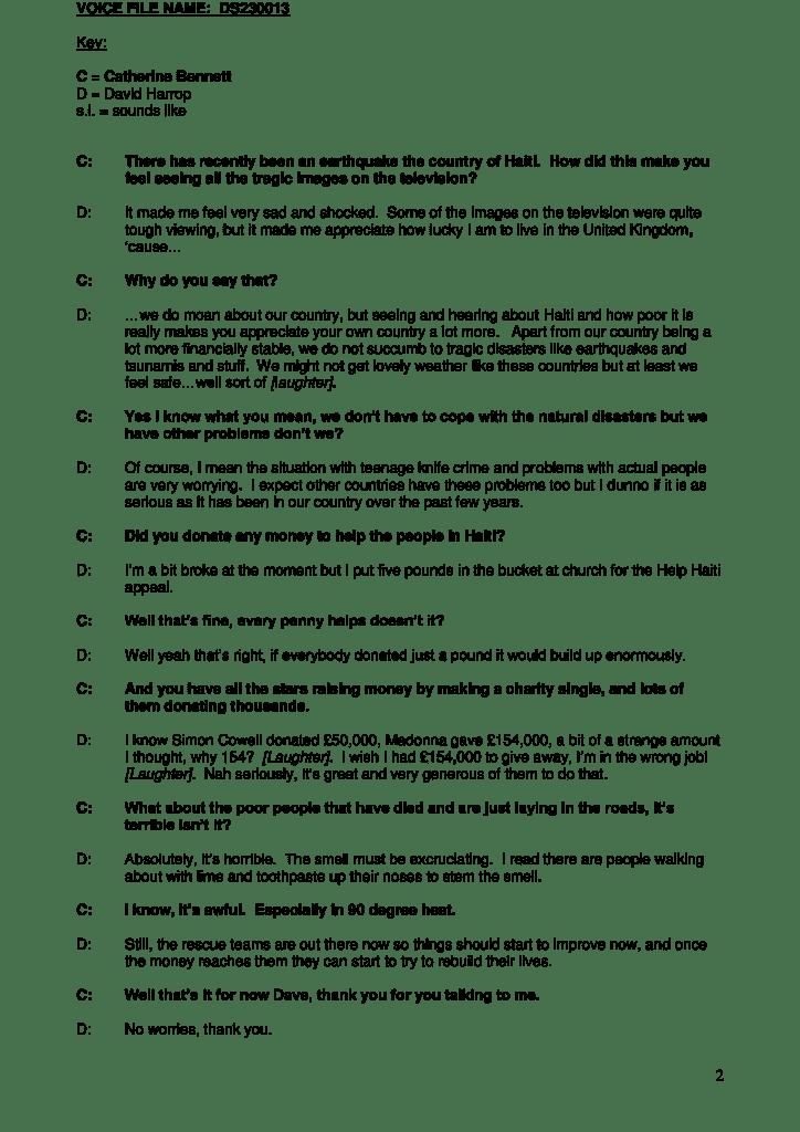 Example intelligent verbatim interview (with slang)_2013_06 [514000]
