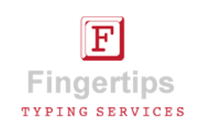 Fingertips Typing Services