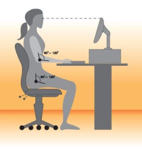 How to improve your posture with better desk ergonomics