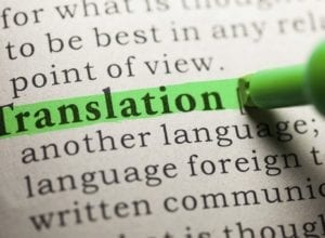 What to look out for in translation