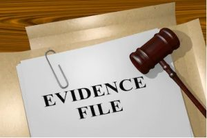Finished transcript after legal transcription services